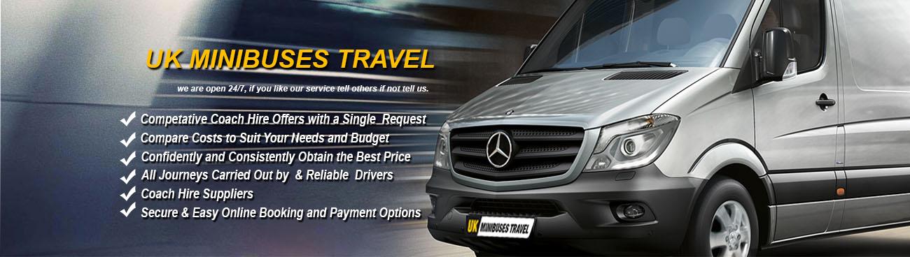 UK MiniBus Travel Banner